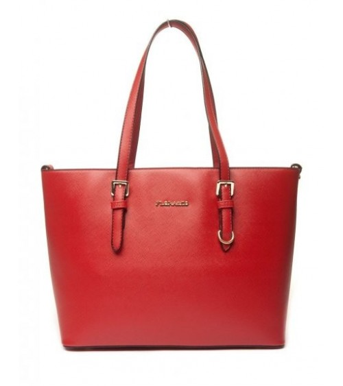Sac cabas chic rouge